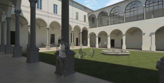 Rendering Chiostri del Correggio
