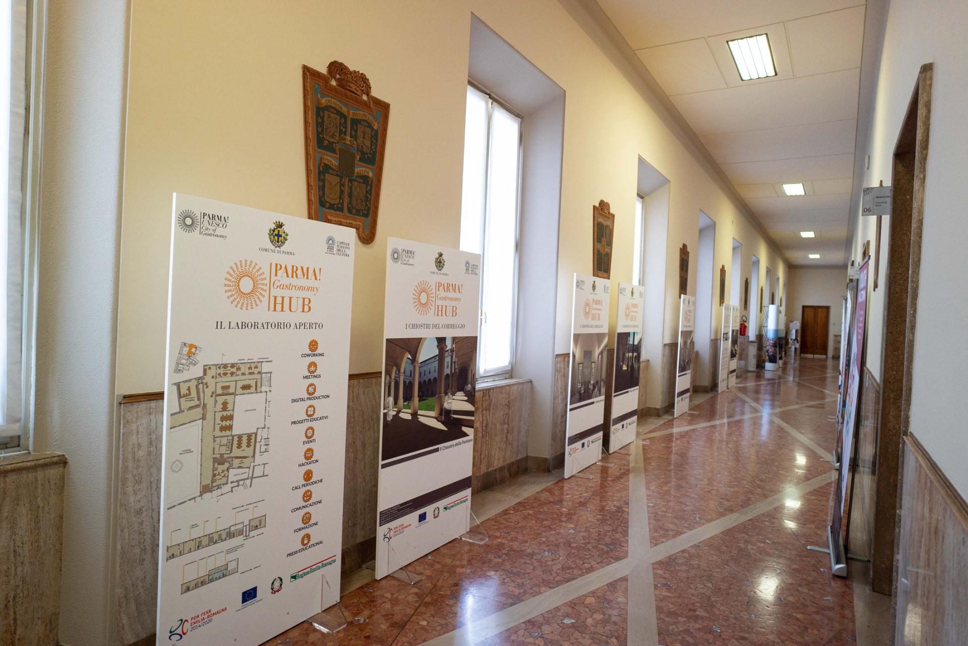 Ex Palazzo Provincia- sede-provvisoria-gastronomy-hub