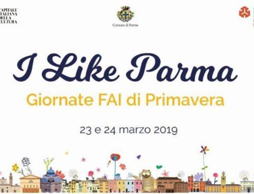 Inaugurazione durante I like Parma  23 e 24 marzo 2019